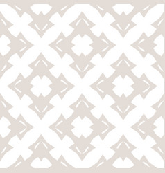 Subtle abstract white pattern in asian style vector