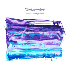 violet pink purple magenta blue watercolor vector image