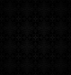 dark backgroundseamless classic pattern vector image