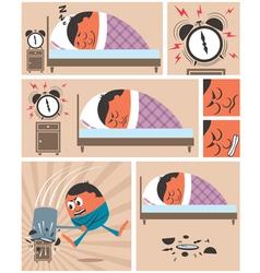 Wake Up vector image