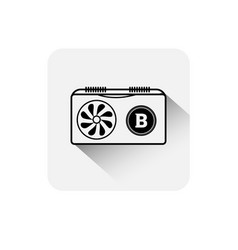 bitcoin coin symbol icon digital web money crypto vector image
