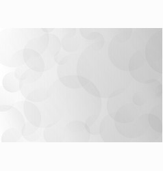 abstract gray transparent circles overlap vector image