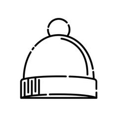 baby hat icon design clip art line icon design vector image