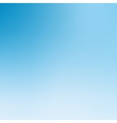Blue and white blurred background vector image