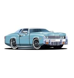 Cartoon retro car vector