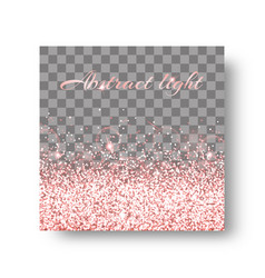 Glimmer pink background vector