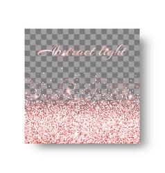 glimmer pink background vector image
