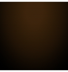 Realistic dark brown carbon background texture vector