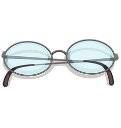 An eyeglass vector