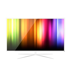 Abstract LED Television - Design vector image