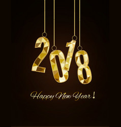 2018 happy new yearmerry christmas congratulate vector image