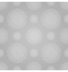 Abstract seamless spiral design pattern Circular vector image