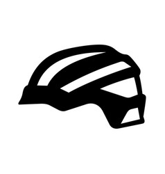 bike helmet vector image