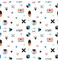 Cute Trandy Seamless Pattern vector