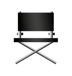 director chair cinema icon vector image