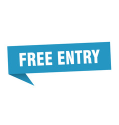 Free entry vector