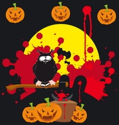 Halloween 12 resize vector image