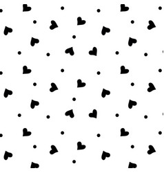 heart background seamless texture love background vector image