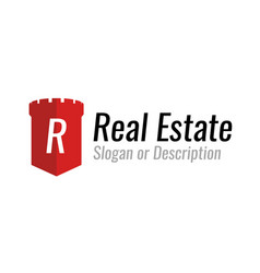 logo design for a company engaged in real estate vector image