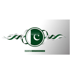 Pakistan independence day design with vector