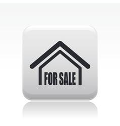 estate icon vector image vector image