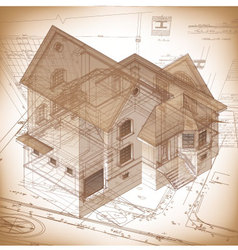 Architectural Diagrams and Plans vector