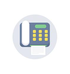 fax icon sign symbol vector image