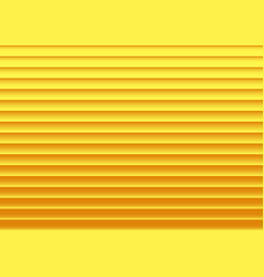 Golden striped background with shadows vector