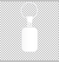 Product design template keychain with no vector