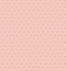 Retro Polka Dot Seamless Pattern vector