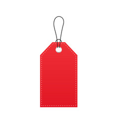 Sale tag and label template shopping label blank vector