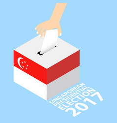 Singaporean presidential election 2017 vector