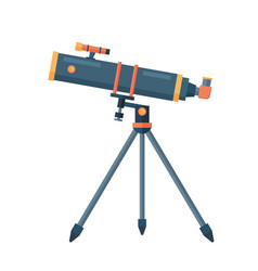 telescope for astronomy science space discovery vector image