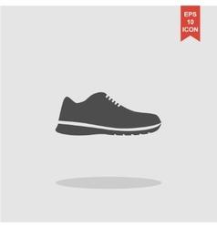 shoe icon Eps 10 vector image