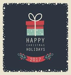 happy holidays123 vector image vector image
