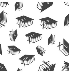 Education and book seamless pattern business vector