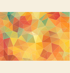Flat geometric triangle wallpaper vector