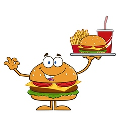 Hamburger Cartoon vector