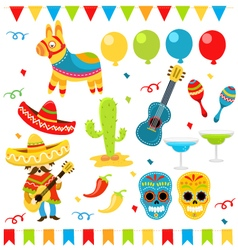 Mexican Design Elements vector image