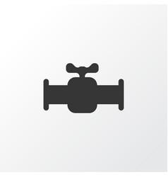 valve icon symbol premium quality isolated vector image