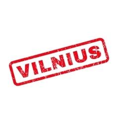 Vilnius Rubber Stamp vector image