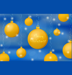 Xmas and new year concept background gold vector