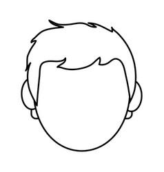 Young man icon image vector