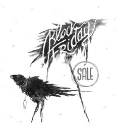 Black Friday Creative Symbol vector image