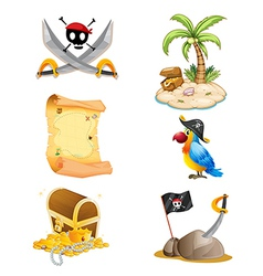 Things related to a pirate vector
