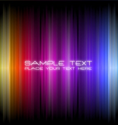 magic light background vector image vector image