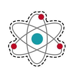 atom representation icon image vector image