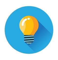 Lightbulb icon vector