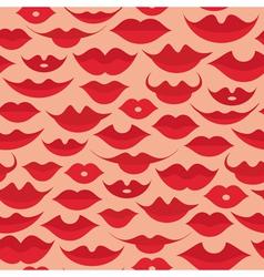 Lips pattern vector