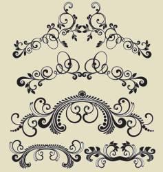 Patterns design vector